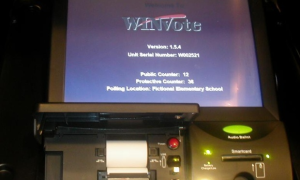 WinVote User Interface