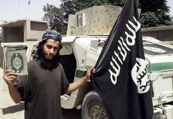 Abdelhamid Abaaoud, from the Feb 2015 issue of Dabiq